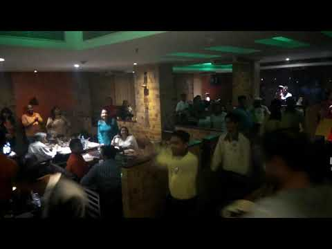 "Watch Staff Performance ""Tera Hi Jalwa"" at Barbeque Nation, Sector 16, Noida"