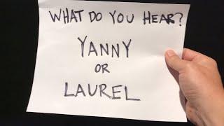 What do you hear?  Yanny or Laurel? #enough lol