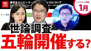 YouTube動画:東京オリンピック・パラリンピックの開催について世論は?電話&インターネットのハイブリッド調査 第60回 選挙ドットコムちゃんねる #3