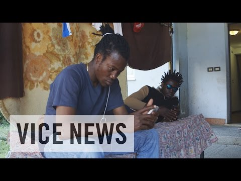Europe's Largest Migrant Reception Center (Extra Scene from 'People Smuggling in Sicily')