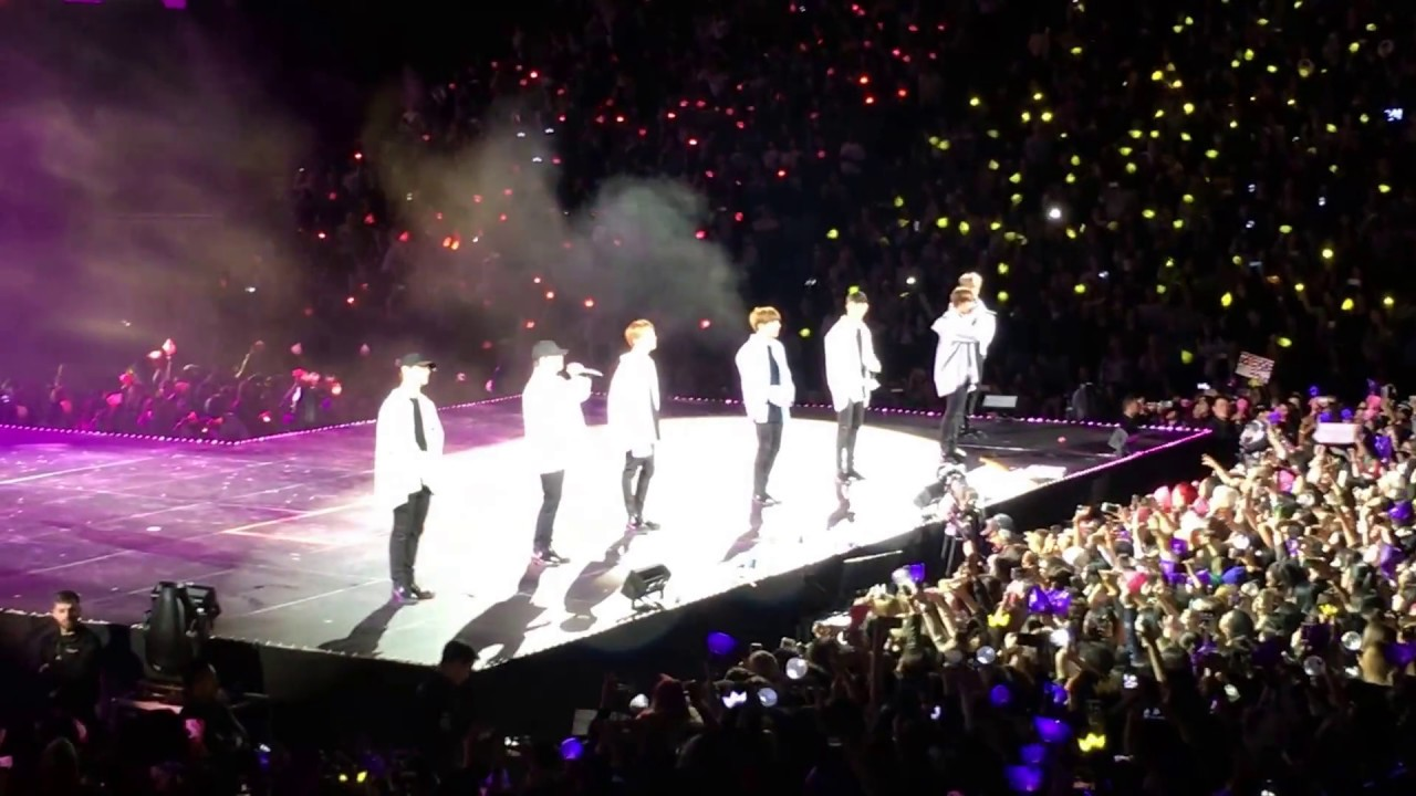 Bts Prudential Center Newark Nj 3 23 2017