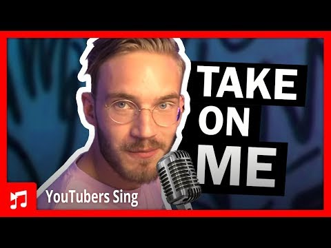 Thumbnail: PewDiePie Singing Take on Me