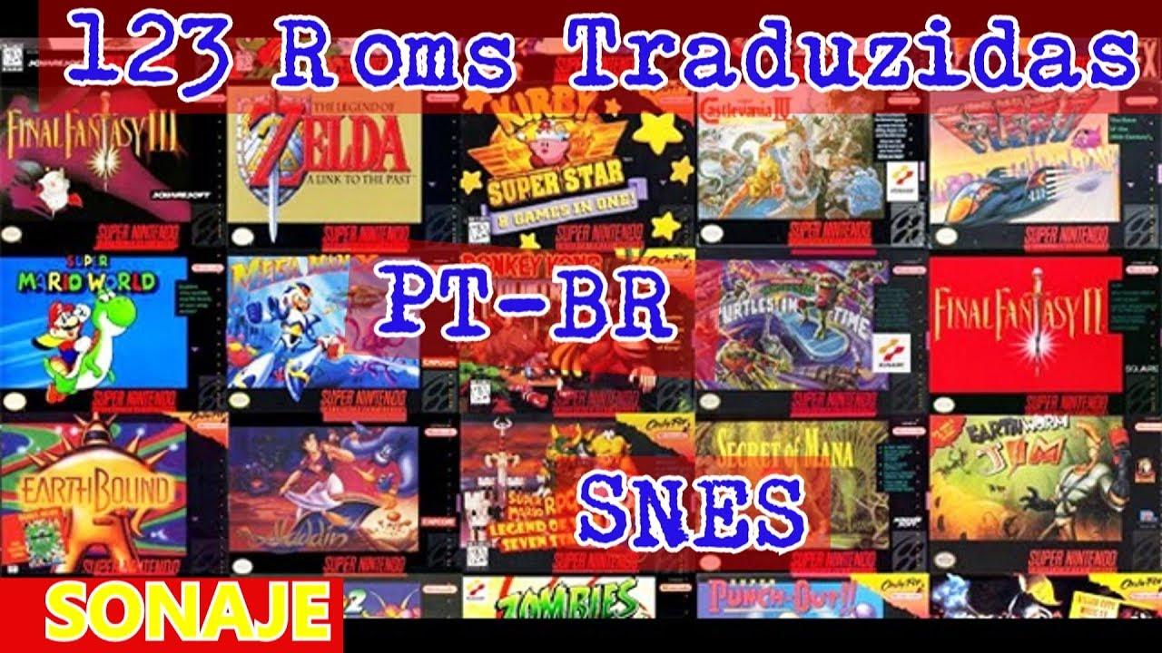 Roms traduzidas snes download free