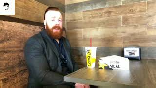 WWE Superstar Sheamus Live 22nd January 2018 Answering Questions of Raw 25