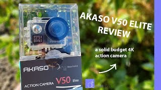 4K, Touch Screen, Image Stabilization | Akaso V50 Elite Review