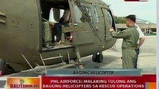 BT: PHL Airforce, bumili ng 8 bago at high tech na helicopters