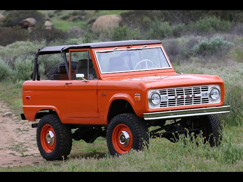 ICON Old School BR Ford Bronco # for Autotype Design charity!