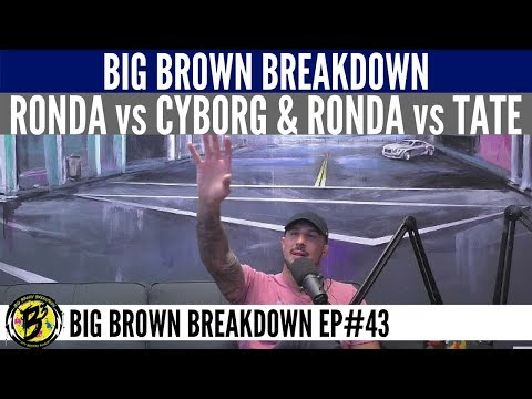 Brendan Schaub on the Possibility of Ronda Rousey vs Cris Cyborg and Ronda vs Miesha Tate