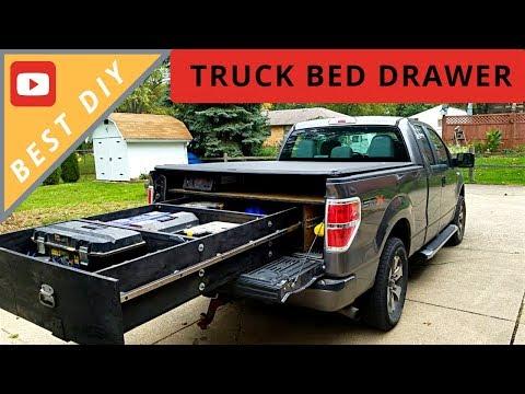 BEST DIY Truck Bed Sliding Drawer