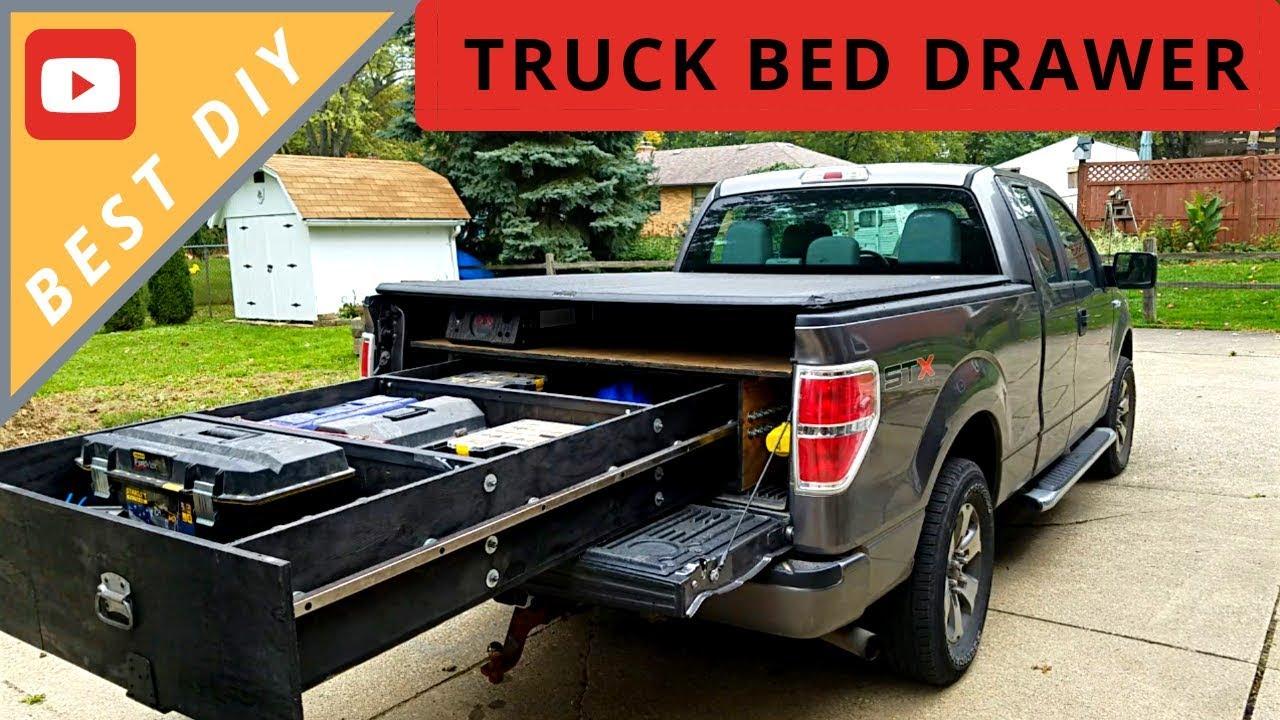 Truck Bed Slide Out >> Best Diy Truck Bed Sliding Drawer
