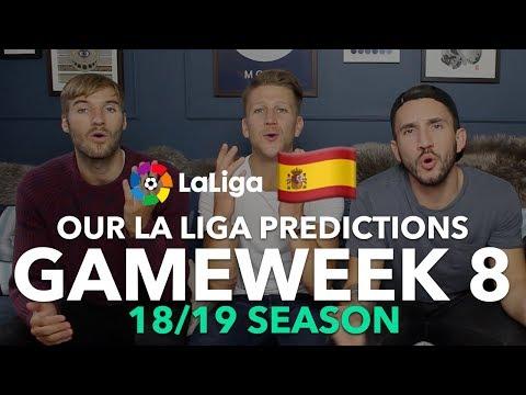 La Liga Tips - Gameweek 8 - 2018/2019