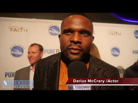 Family Matters Actor Darius McCrary : A Question of Faith Movie Premier