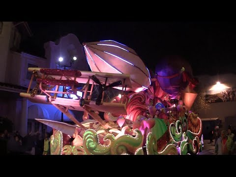 FULL Mardi Gras parade 2014 at Universal Orlando