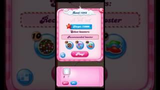 Candy Crush Saga level 1343