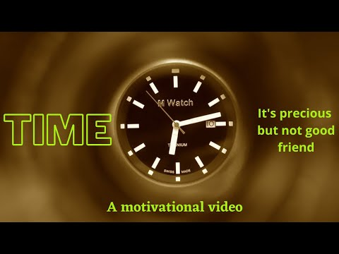 TIME | BEST MOTIVATIONAL VIDEO | IMPORTANCE OF TIME