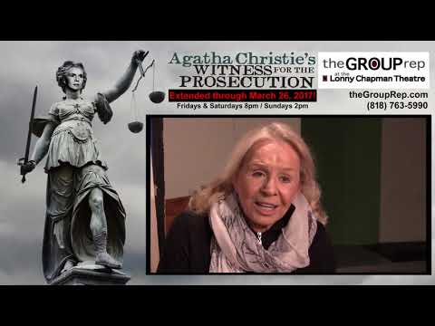 WITNESS FOR THE PROSECUTION - Salome Jens, Actor
