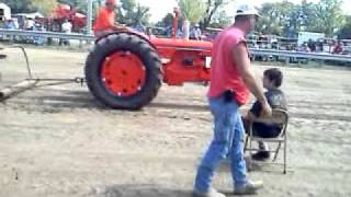 1940 DC Case tractor Pull
