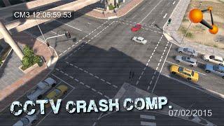 BeamNG.drive - CCTV Crash Compilation