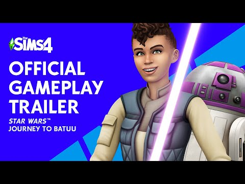 The Sims™ 4 Star Wars™: Journey to Batuu   Official Gameplay Trailer
