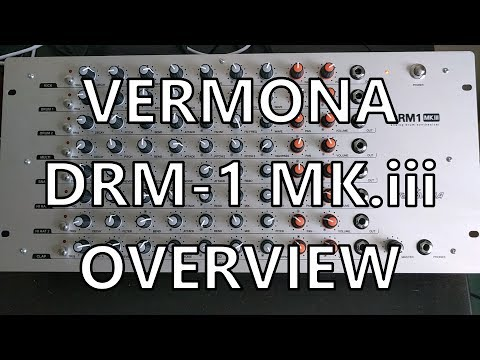 Vermona DRM1 Pt. 01 - Overview