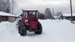 Т-16 чистит дорогу(, 2016-02-13T13:08:39.000Z)