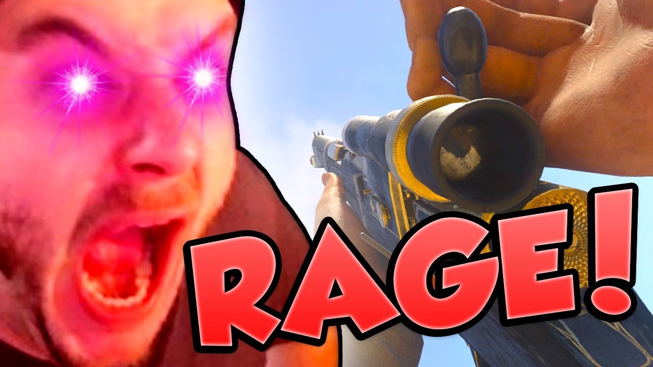 NEW SNIPER RAGE! (Call of Duty WW2 Type 38)