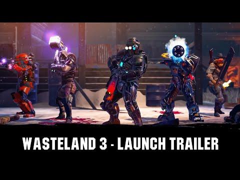 Wasteland 3 - Tráiler de lanzamiento