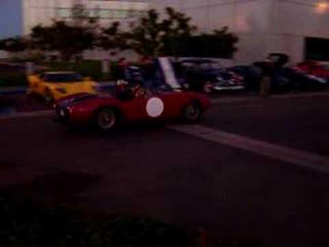 1954 Ferrari 375 MM Spyder.