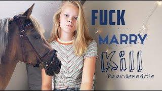 Fuck marry kill tag met JULLIE pony's! | Coco & Elise