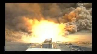 5-Segment Solid Rocket Motor DM-1 Test Firing For Ares I Rocket
