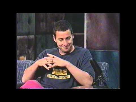 Adam Sandler Interview - Late Night with Conan O'Brien - June 24th, 1999