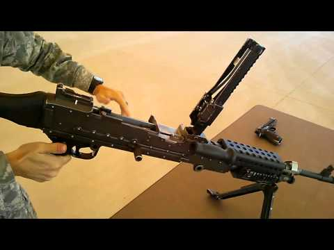 M240 Disassembly Steps