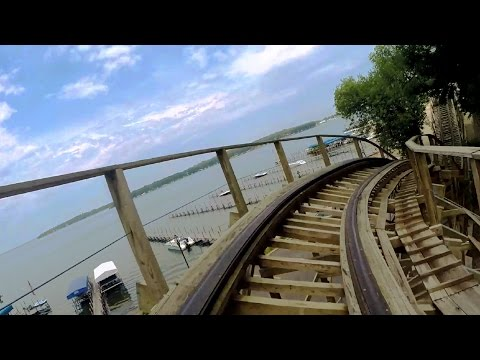 Legend front seat on-ride HD POV @60fps Arnolds Park