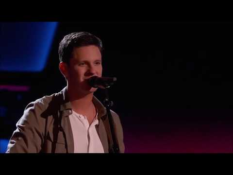 Chris Crump sings 'Thinking Out Loud' by Ed Sheeran   The Voice 2015   Blind Audition mp4