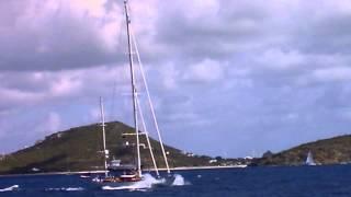 St. Maarten - Onboard the Mirabella Catamaran