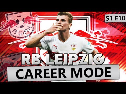 TIMO WERNER OUT, NEW STRIKER IN!!! FIFA 18 CAREER MODE RB LEIPZIG #10