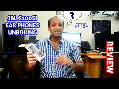 JBL C100SI Budgeted Earphones Unboxing & Review! [HINDI] 🔥🔥🔥