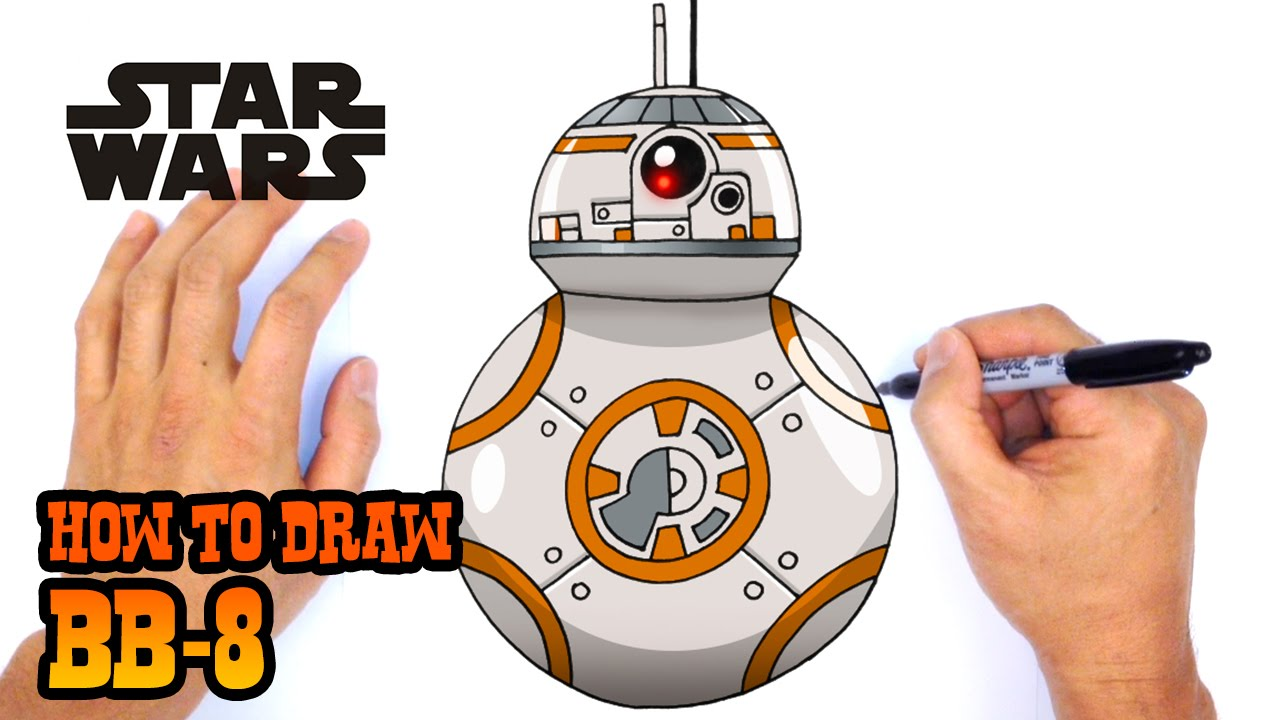 How to Draw Star Wars | BB-8 - YouTube