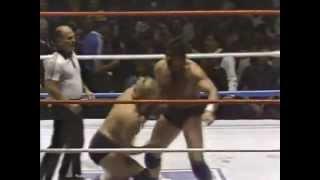 Pat Patterson vs Iron Mike Sharpe