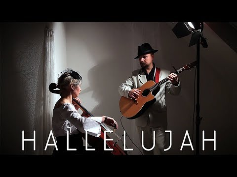 HALLELUJAH Leonard Cohen  - Cover Cello and Guitar - OldWine
