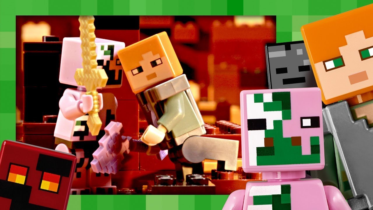 c3e601bcf8df LEGO Minecraft - O Combate de Nether - LEGO