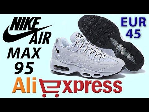 634cedac Обзор NIKE AIR MAX 95 Кроссовки из Китая с AliExpress Купить кроссовки Nike  Air Max 95 http://ali.pub/1gyo4r или http://ali.pub/1gyohs или  http://ali.pub/ ...
