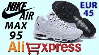 Обзор NIKE AIR MAX 95 Кроссовки из Китая с AliExpress
