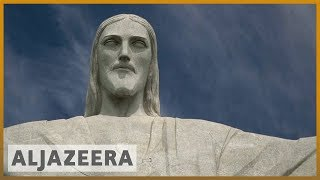 🇧🇷Tourists robbed in Brazil near Rio's Christ the Redeemer statue l Al Jazeera English