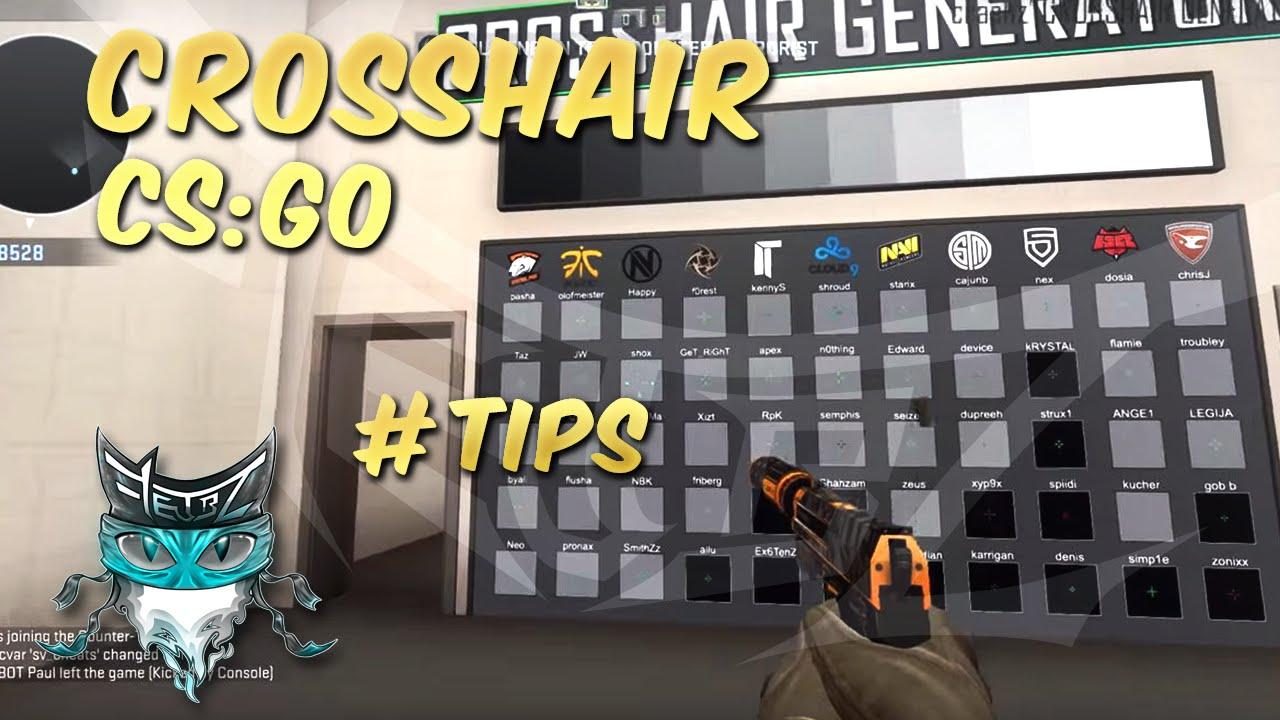 Crosshair Generator - CS:GO Tutorials - YouTube