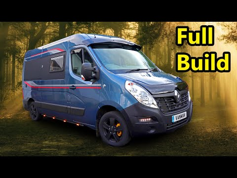 HOW TO MAKE A CAMPER VAN From Start to Finish (Low Budget Interior) 2020
