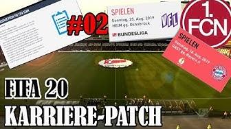 FIFA 20 Karriere 1 FC Nürnberg: Zweite Folge mit den NEUEM PATCH + weiterhin ungeschlagen?