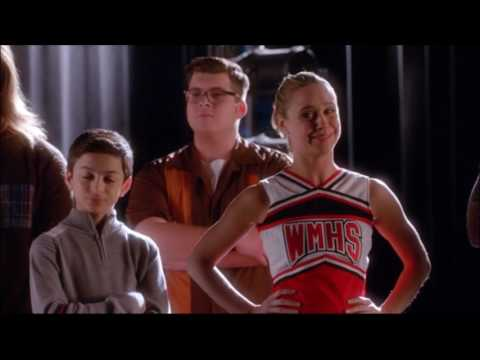 Glee  New directions and Warblers argue over uniforms 6x10