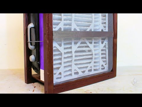 Simple Air Filtration System for your Garage or Workshop Dust Collection