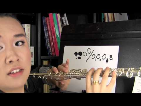 How to Read Flute Fingering Charts